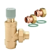 "Caleffi ¾"" press x ¾"" NPT press Differential pressure by-pass valve 519566A"