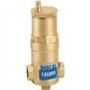 "Caleffi ¾"" sweat Discal Compact Air Separator with 1⁄2"" service check valve 551022AC"
