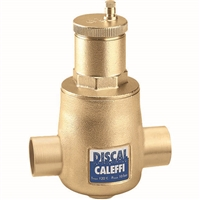"Caleffi 1"" sweat Discal Sweat Air Separator 551028A"