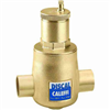 "Caleffi 1 ¼"" sweat Discal Sweat Air Separator 551035A"