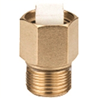 "Caleffi ½"" NPT male Isolation service check valve 561402A"