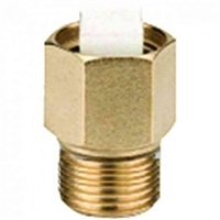 "Caleffi ¼"" NPT male Isolation service check valve 59804A"