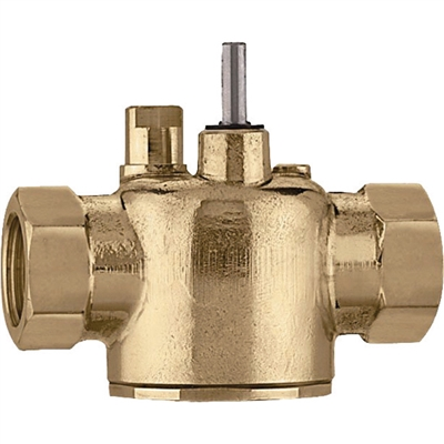 "Caleffi, 1"" NPT, Two-way on/off two position valve. Z200617"