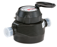 "Badger 1"" Plastic (RCDL) positive displacement meters are one of the most cost effective methods in metering industrial fluids. (Low Lead)