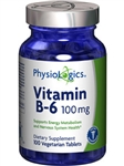B-6 Vitamin 100 mg / Physiologics / 100 tabs
