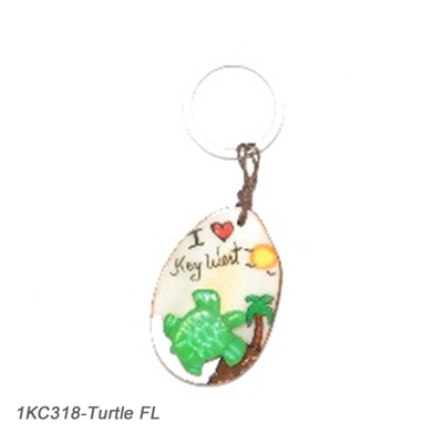 I Love Florida Keychain