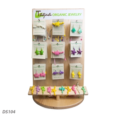 Tagua Jewelry Display