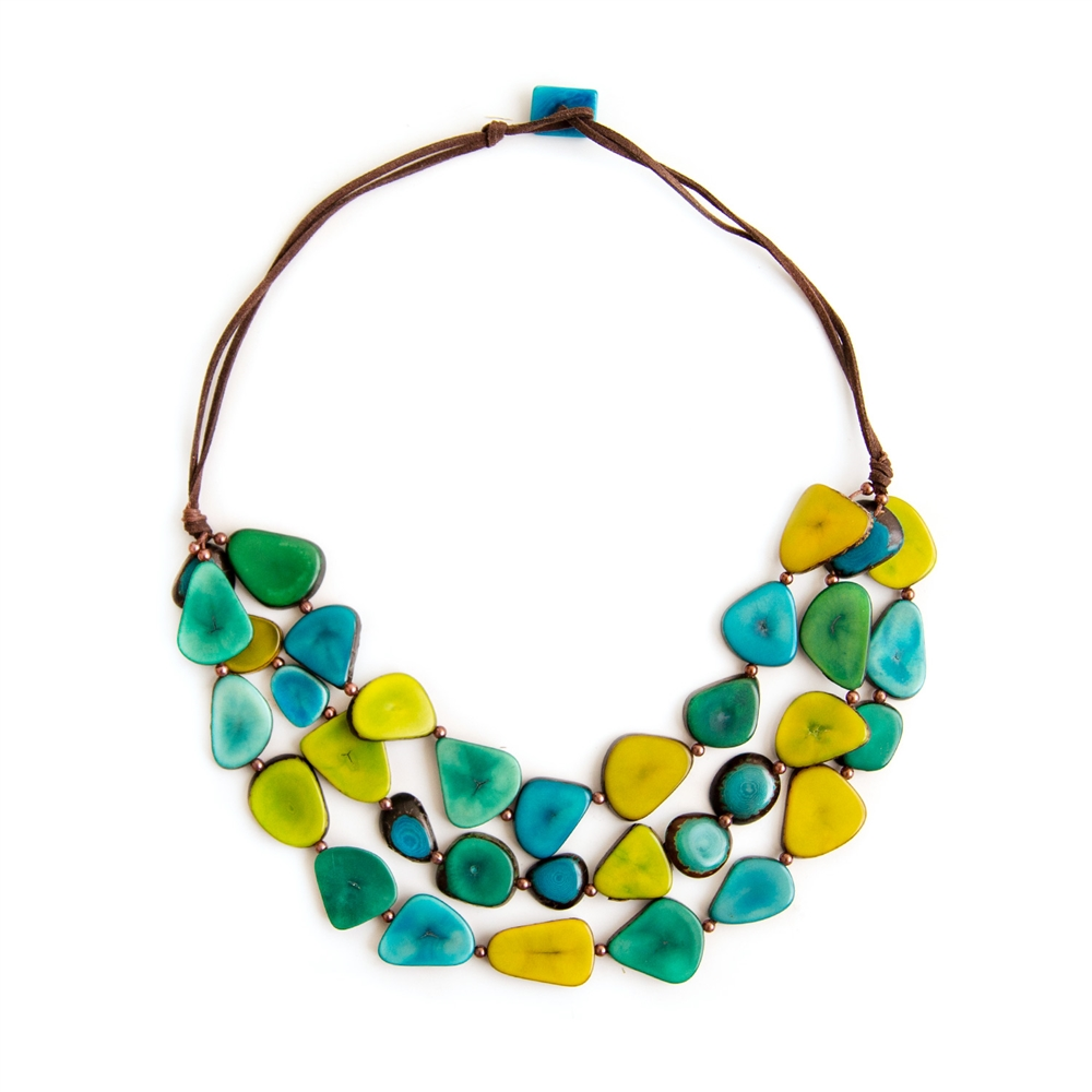 Almaemail alma necklace - organic tagua jewelry
