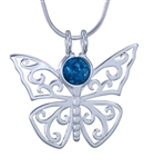 10mm Itty Bitty GAYM Butterfly Pendant