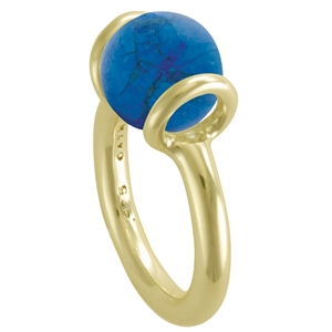 Vermeil Itty Bitty Stacker Ring