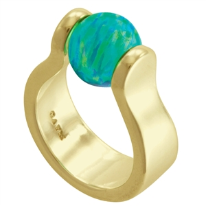 Vermeil Itty Bitty Venus Ring