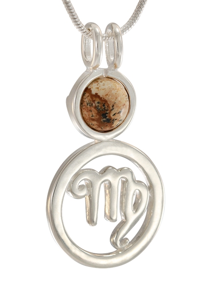 Itty Bitty Zodiac Virgo Pendant Astrology