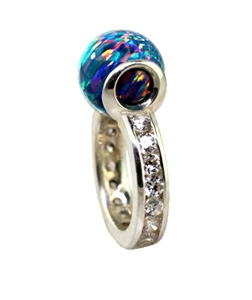 Peewee Eternity MarbleLuxe Ring