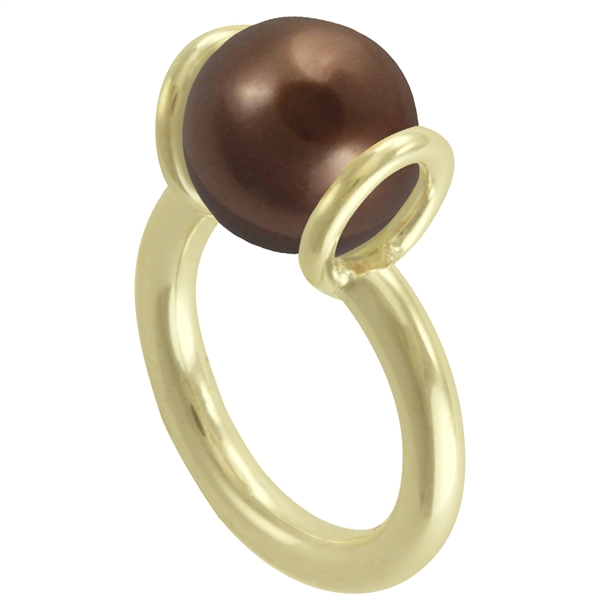 Vermeil Pee Wee Stacker Ring