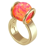 Vermeil Fancy Mod Ring