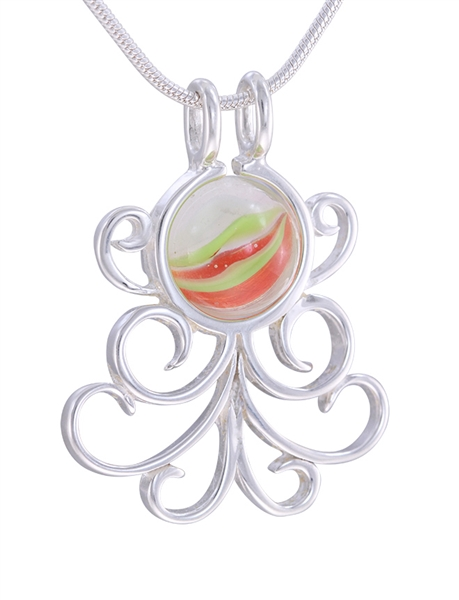 Fancy Octopus Pendant