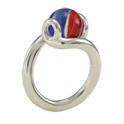 itty bitty marblePOP! infinity ring