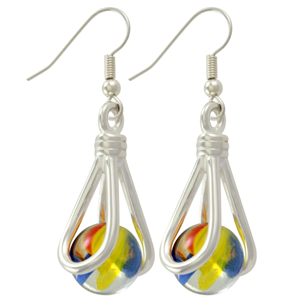 pee wee marblePOP! Earrings