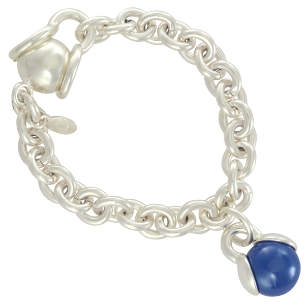 fancy marblePOP! Link Bracelet-with-Charm