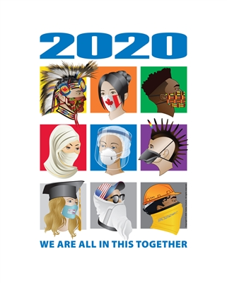 2020 The Human Race Art Print