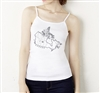 I Luv Canada Spagetti Strap Tank Top - Ladies