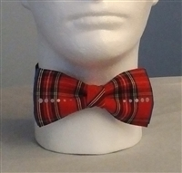 Red Hot Tartan Bow Tie - Unisex