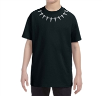 Youth Black Panther Reflective T-Shirt