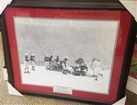 1950 Ohio State vs. Michigan 'Snow Bowl' Framed 16 x 20
