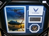 U.S. Air Force Collage w/Coin Framed