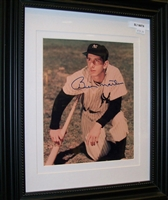Billy Martin 8 x 10 Framed