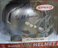 Billy Price Mini Helmet
