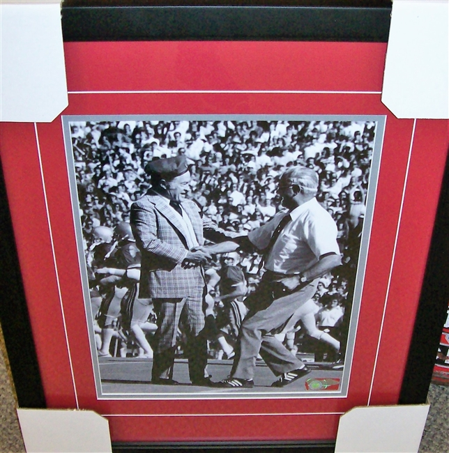Bob Hope & Woody Hayes Framed 16 x 20