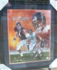Brian Urlacher Signed 16 x 20 Framed