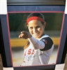 Cat Osterman Signed & Framed 16 x 20