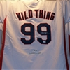 Charlie Sheen Signed Major League Wild Thing Jersey