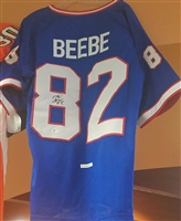 Don Beebe Signed Replica Jersey