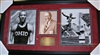 Jesse Owens Signed Photo Collage Framed