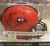 Joe Schbert Signed Mini Helmet