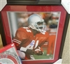 Keith Byars Signed 16 x 20 Framed