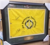 The Memorial Tournament Flag Signed by 3 Golfers - Kenny Perry, Justin Rose, William McGirt