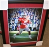 Mike Weber Signed 16 x 20 Framed