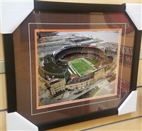 Municipal Stadium 11 x 14 Framed