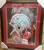 Ohio State Buckeyes Alternate Helmet 16 x 20 Framed