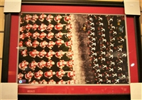 Ohio State Marching Band and Team 16 x 20 Framed