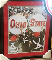 Ohio State Marching Band Drums 16 x 20 Framed