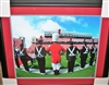 OSU Marching Band Framed 16 x 20