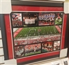 Ohio State Marching Band Collage 16 x 20 Framed