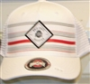White Ohio State Snapback Hat