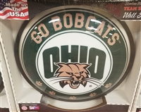 Slimline Illuminated Round Ohio University Wall Sign