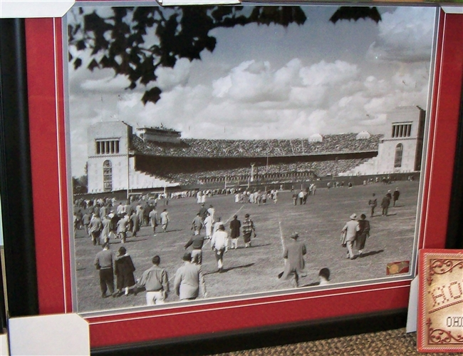 Old Ohio Stadium 16 x 20 Framed